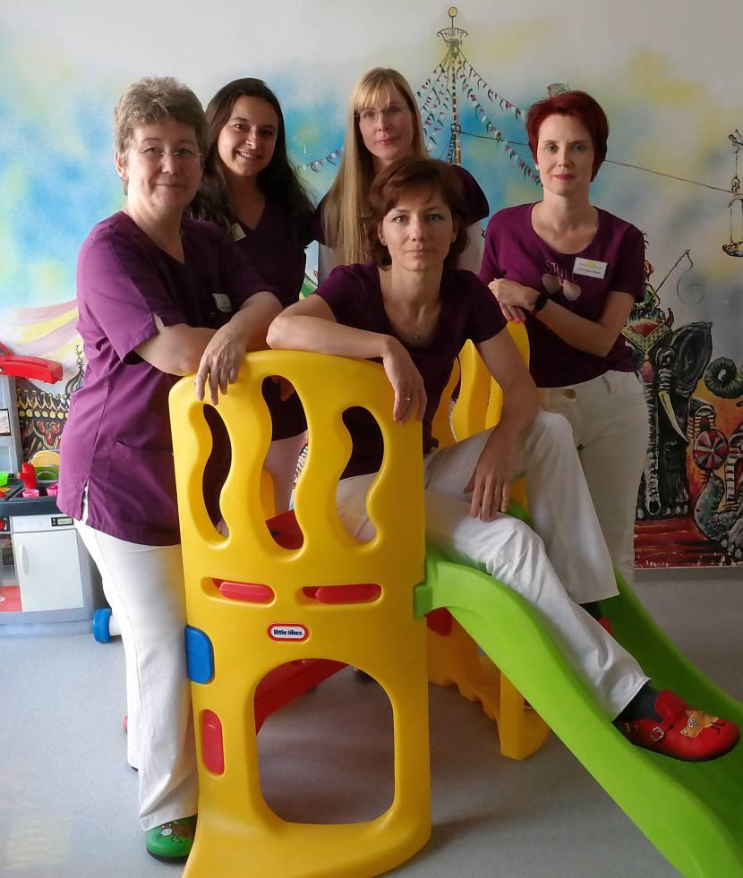 Team der Kinderärztin